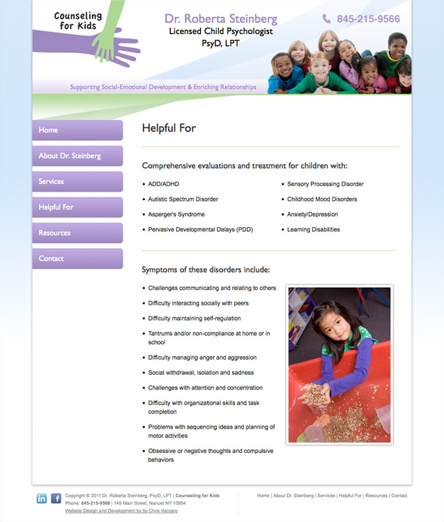 counseling for kids helpful for page