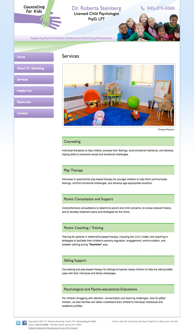 counseling for kids services page