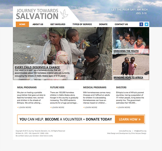 journey towards salvation homepage