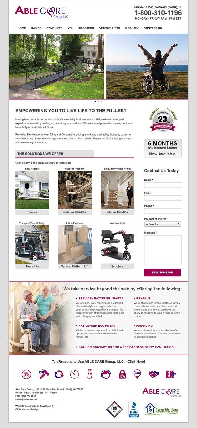 able care homepage