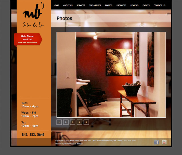 mb salon and spa photos page