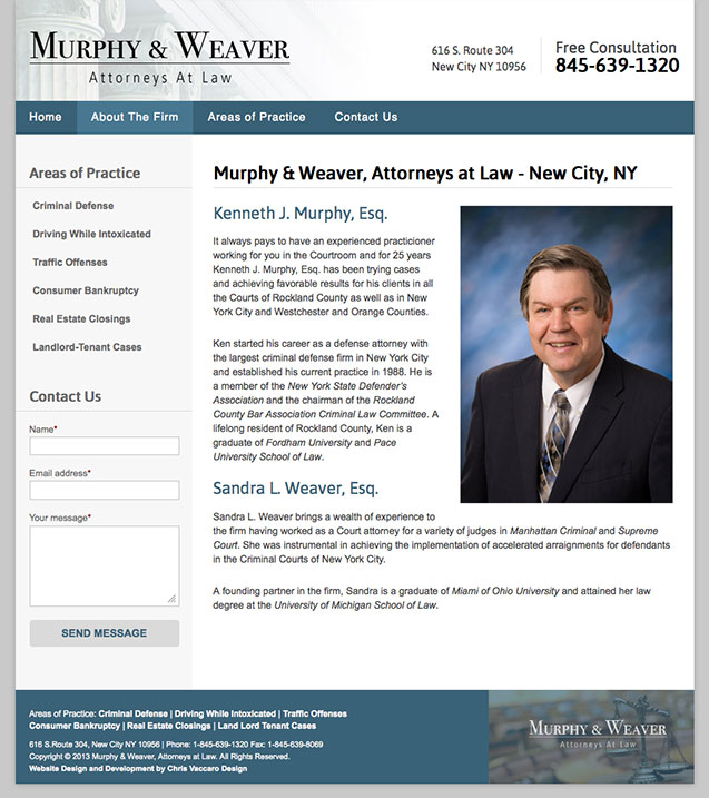 Murphy Weaver Law aboutpage