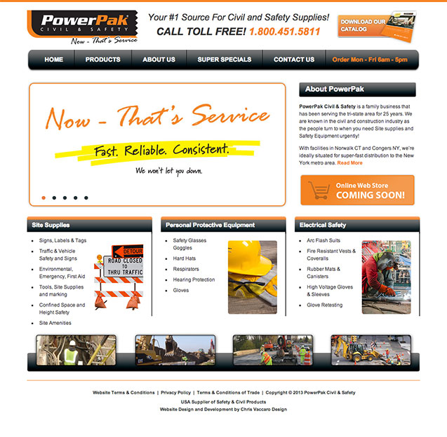 Powerpak Homepage