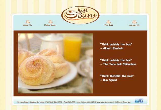 just buns homepage