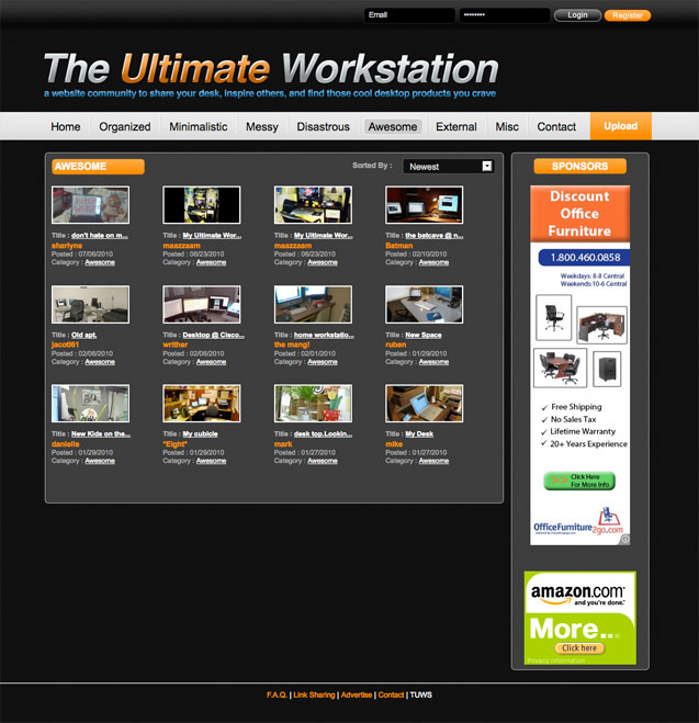 the ultimate workstation awesome page