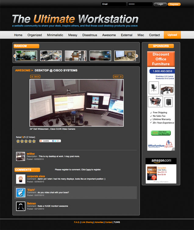 the ultimate workstation user writer page