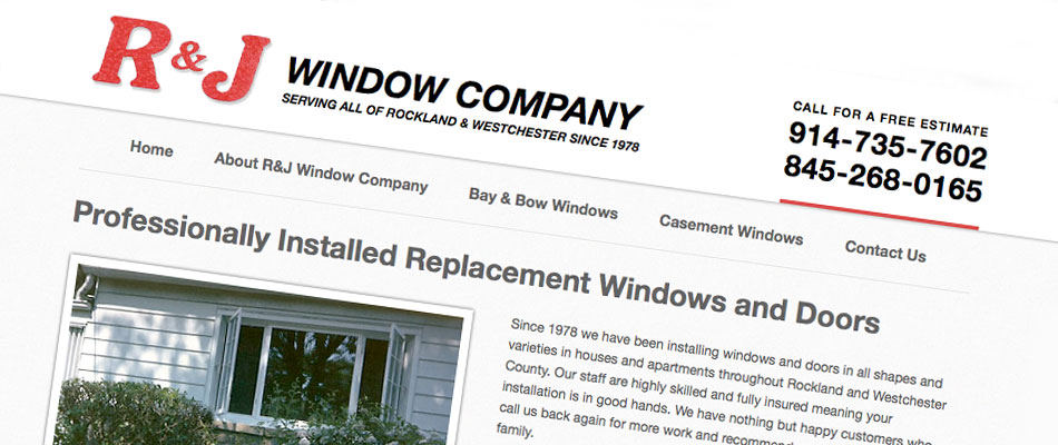 R&J Window Company - RJ windows slide